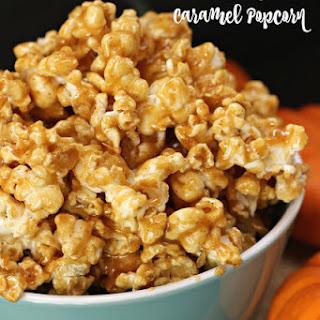 Pumpkin Pie Caramel Popcorn