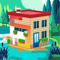 Paint City 3D  -  Color House Game icon
