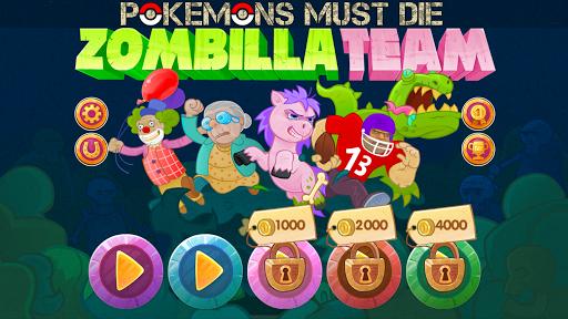 ZombillaTeam Pokemons Must Die Apk Download 1