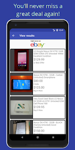 eFerret - eBay search alerts and notifications - náhled