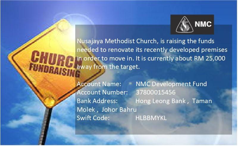 NMC Development Fund Raising(努沙再也卫理公会发展基金凑款)
