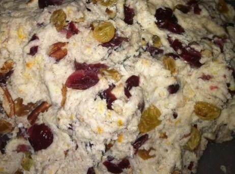 Whisk in 3 of the egg whites. Add orange zest,and yogurt to flour mixture. Add...