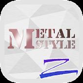 Metal-R Theme - ZERO Launcher