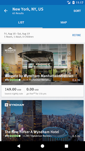 Wyndham Rewards 3.9.0.3865 screenshots 2