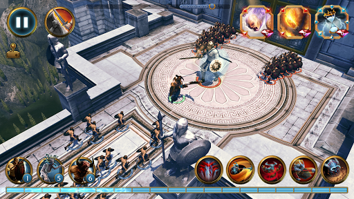 Olympus Rising: Tower Defense and Greek Gods apkpoly screenshots 6