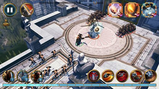 Olympus Rising: Tower Defense and Greek Gods apkmind screenshots 6