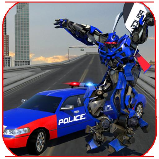 Police Limo Robot Battle