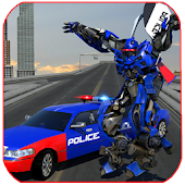 Police Limo Robot Battle