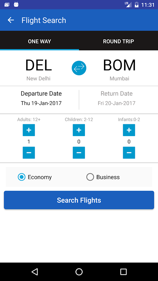 EaseMyTrip- Flight Booking App- screenshot