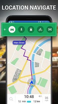 通り 見る - 地球 地図 ライブ、 GPS & 衛星 地図のおすすめ画像4