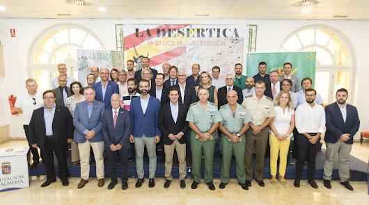 Almería celebra el impacto social y económico de La Desértica de los récords