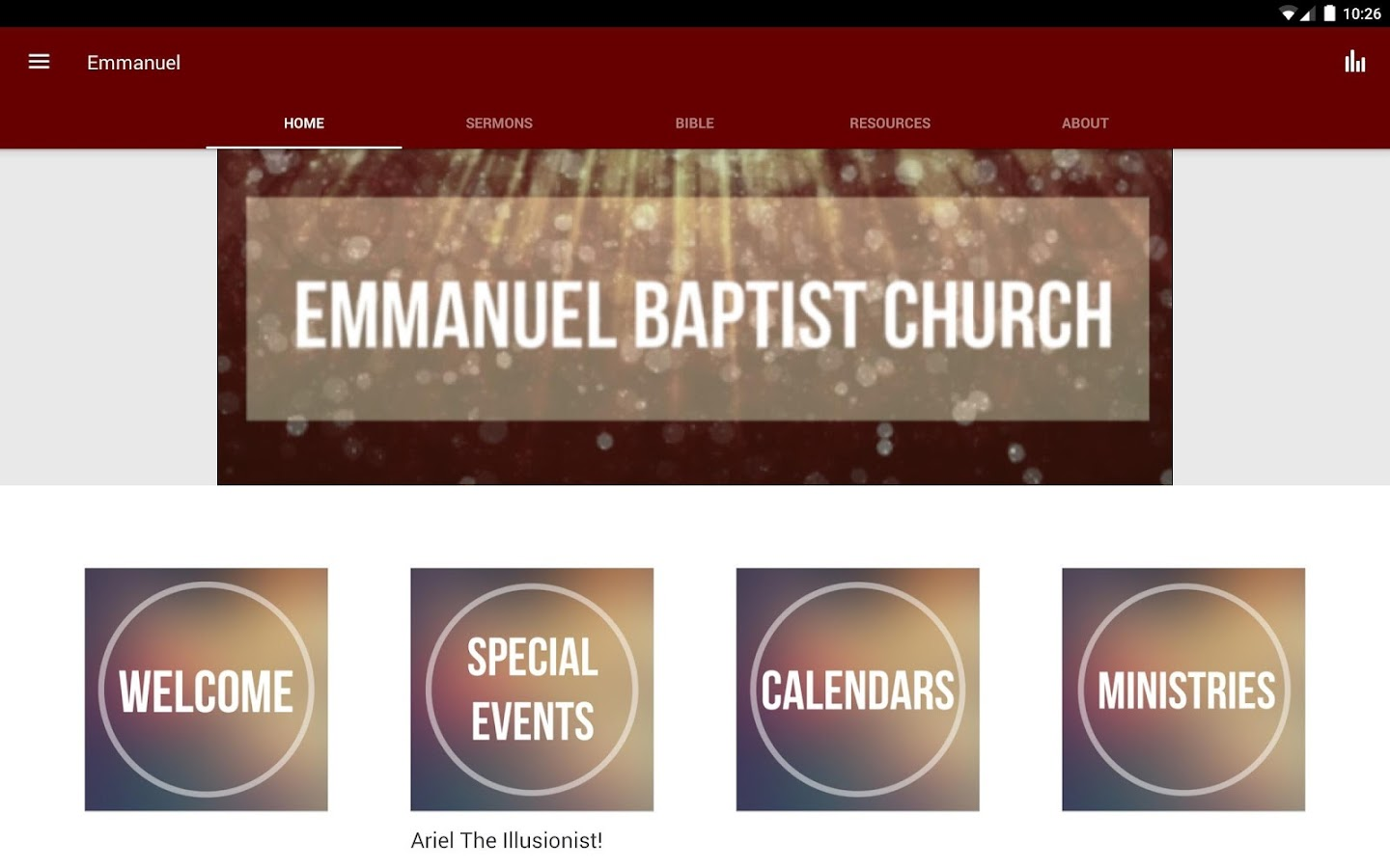 Emmanuel Baptist Church - MS- screenshot