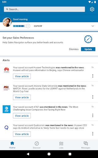 LinkedIn Sales Navigator 6.8.7 screenshots 9
