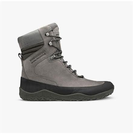 W´s VivoBarefoot - Tracker Hi Fg Dark Grey Leather