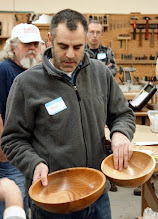 Photo: Joe McArdle made a pair of bowls in southern magnolia -- a wood we don't see turned very often.