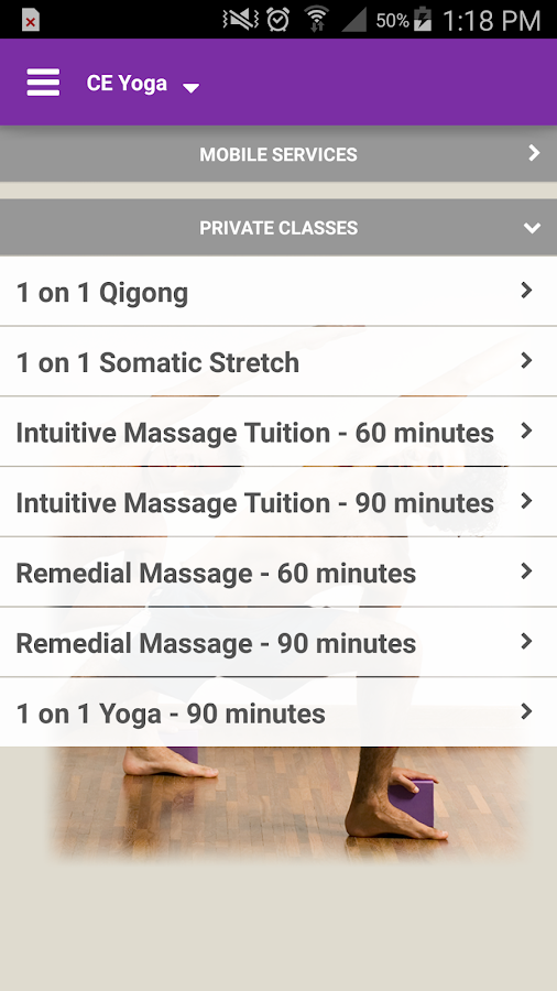 CE Yoga for Men- screenshot