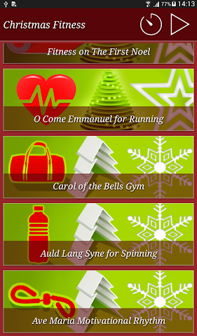 android Christmas Fitness Holidays Screenshot 11