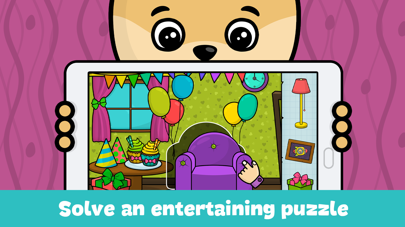 Baby games for 2 to 4 year olds- screenshot