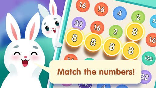Bunny Connect: Match Colours, Numbers & Bubbles screenshot 3