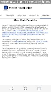 Wesbr Foundation - náhled