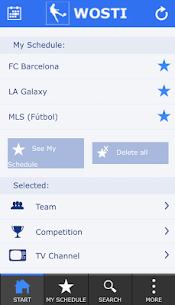 Descargar WOSTI Sports TV Guide para PC ✔️ (Windows 10/8/7 o Mac) 4