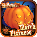 Match Pictures of Halloween icon