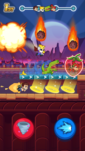 Screenshot for Booster Raiders in United States Play Store