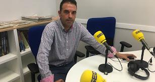 Pedro Ridao, en los estudios de SER Levante.