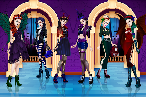 purple and black gothic dresses gothic dress up android apps on google play