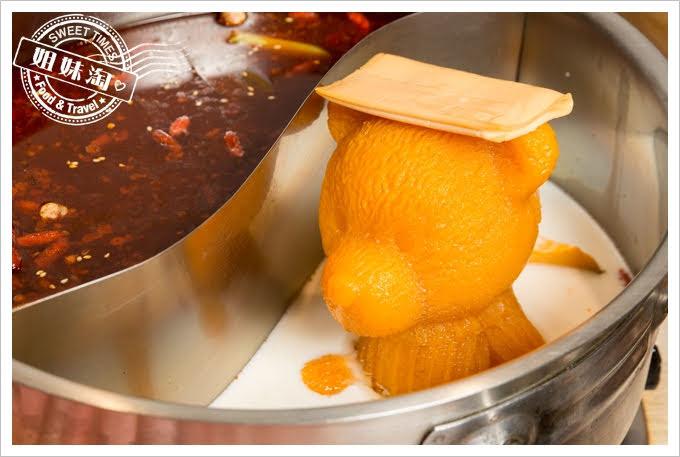 愛食鍋麻辣鴛鴦爆濃南瓜牛奶鍋