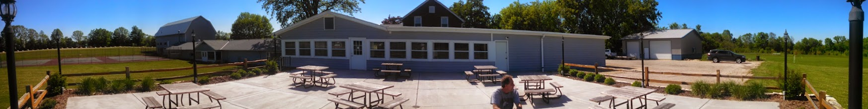 Photo: Panorama of the clubhouse