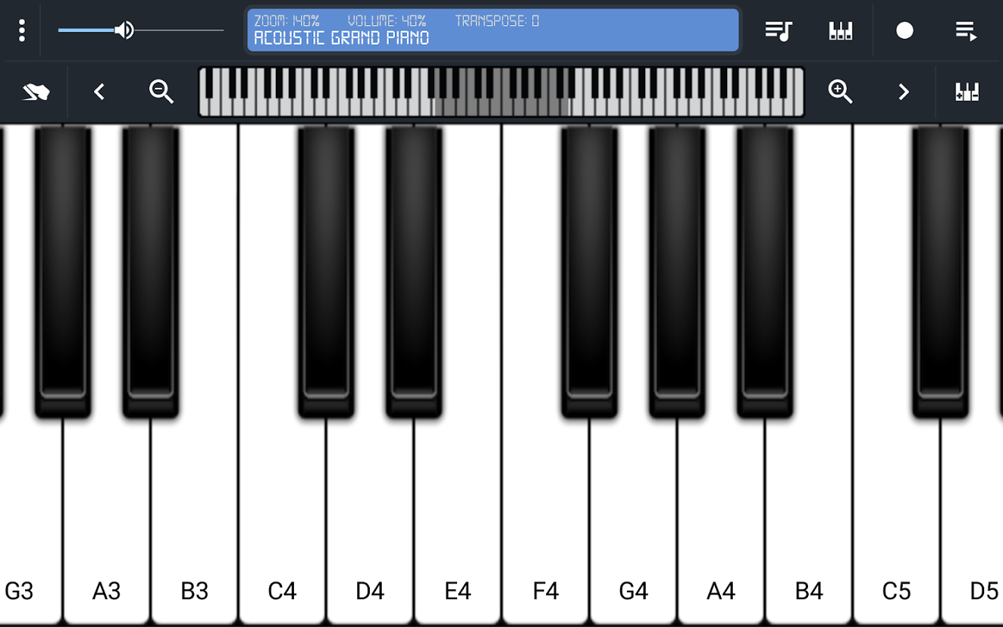 Cozyme Piano- screenshot