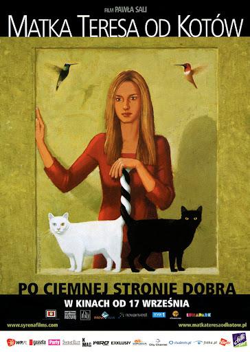 Przód ulotki filmu 'Matka Teresa Od Kotów'