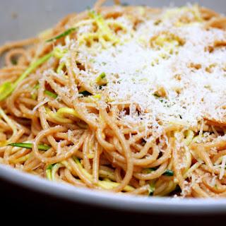 Zucchini Strand Spaghetti