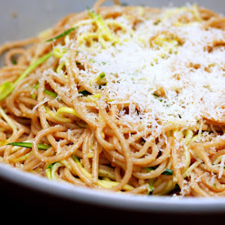 Zucchini Strand Spaghetti.
