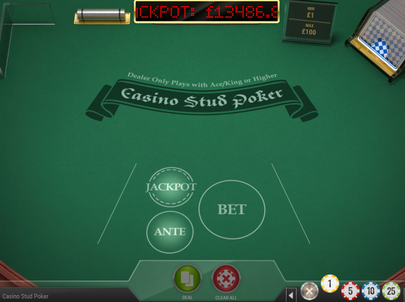 Casino Stud Poker is one of the great slot games you can play at Casoola Casino