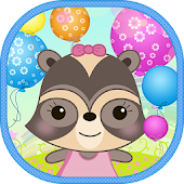 Candy Raccoon: Pop Balloons Android APK Download Free By Sylok Media By MGrup