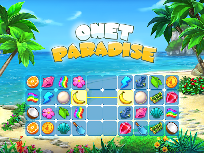 Onet Paradise: connect 2 or pair matching game