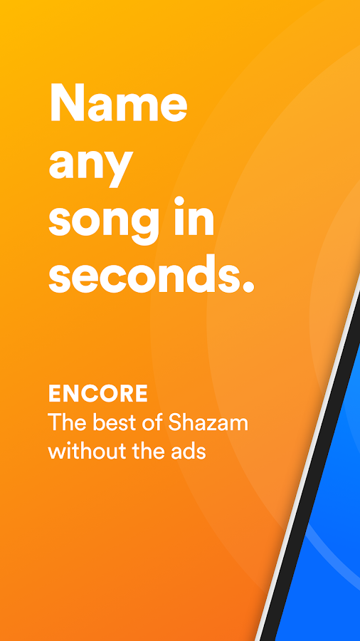 Shazam Encore- screenshot