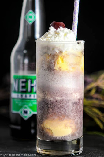 The Adult Purple Cow A Vodka And Nehi Grape Soda Float