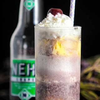 The Adult Purple Cow – a Vodka and Nehi Grape Soda Float Recipe