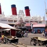 american waterfront at Tokyo DisneySea in Urayasu, Tiba (Chiba) , Japan