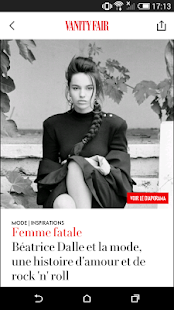 VANITY FAIR MAGAZINE FRANCE - náhled