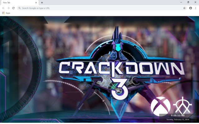 Crackdown 3 New Tab & Wallpapers Collection