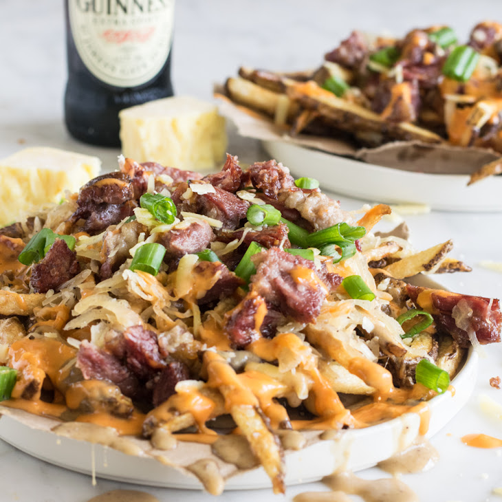 Loaded Leftover Corned Beef St Patrick'S Day Fries Recipe
