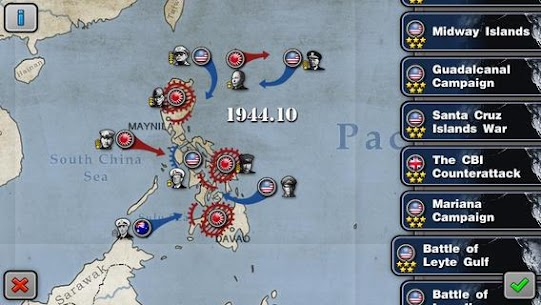 Glory of Generals :Pacific HD Apk Download For Android and Iphone 4