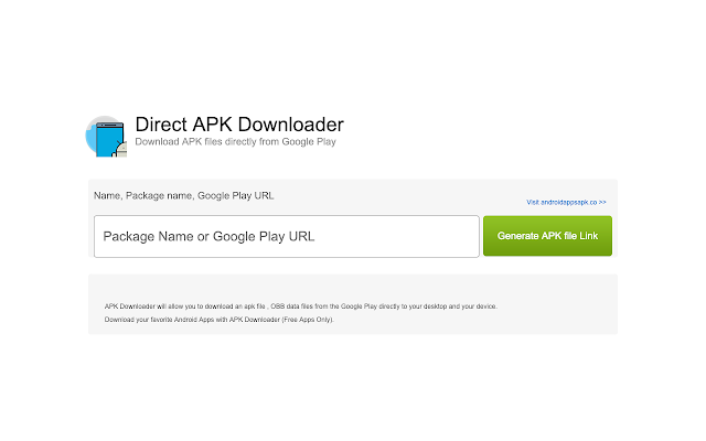 Direct APK Downloader