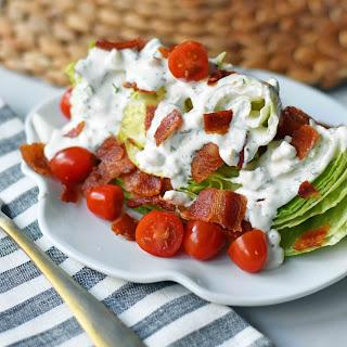 Ultimate BLT Wedge Salad.