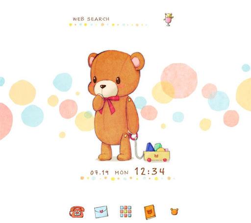 背景圖片/icon 小熊與積木