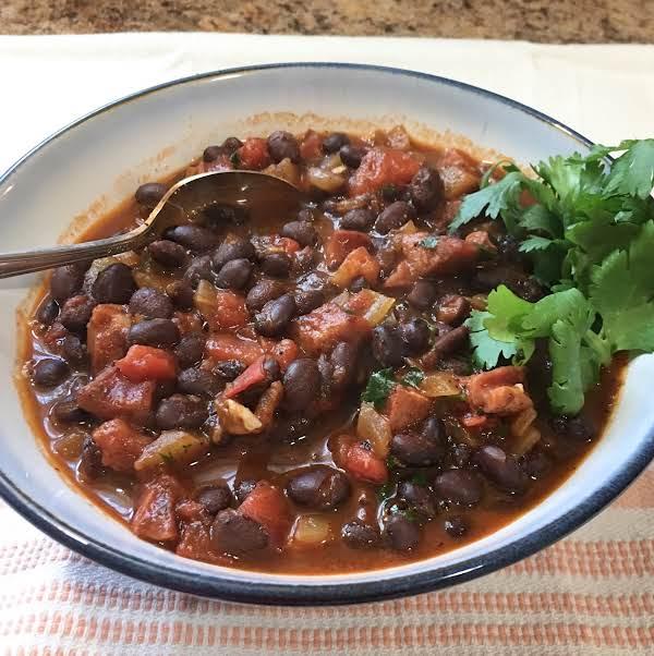 Chorizos Con Frijoles Recipe